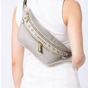 NWT Micheal Kors nylon studded waist packs
